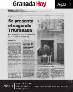 Granada Hoy - Se presenta el segundo TriGranada