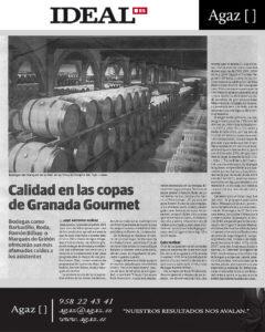 Ideal - Calidad en las copas de Granada Gourmet